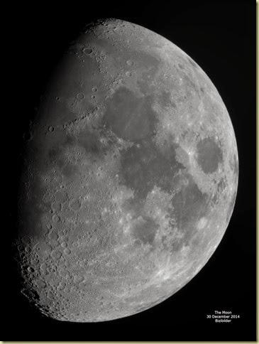30 December 2014 Moon