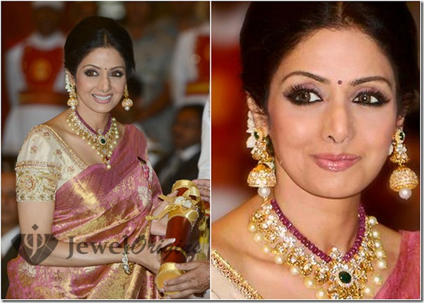 Sridevi_Diamond_Pearl_Necklace