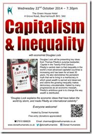 Capitalism & Inequality poster