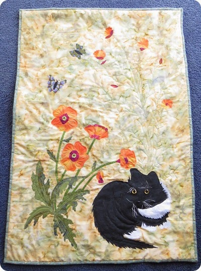 Debbies cat wallhanging1IMG_1452_1