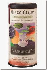 Republic of Tea Mango Ceylon Tea