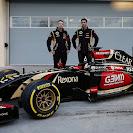 Lotus E22 F1 car launch pictures