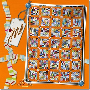 Quilt072-Scrappy macht happy