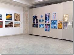 Expozitie de tablouri de vis la Palatul Parlamentului