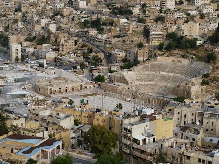 Obiective turistice Iordania: Amfiteatrul din Amman