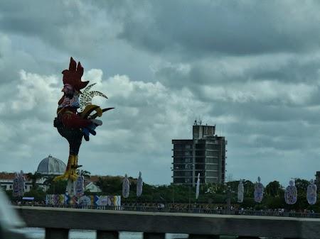 Celebrul cocos din Recife, simbol al petrecerii Galo da Madrugada (Cocosul de la rasarit) Dati un google si o sa intelegeti rapid ce fel de party este.jpg