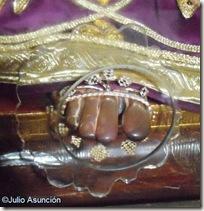 Pie desgastado de Jesús el Pobre - Iglesia de San Pedro el Viejo