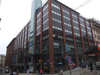 Aquí estaba la facultad de Matemáticas en 2001. Helsinki.