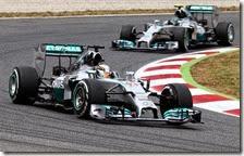 Hamilton vince il gran premio di Spagna 2014