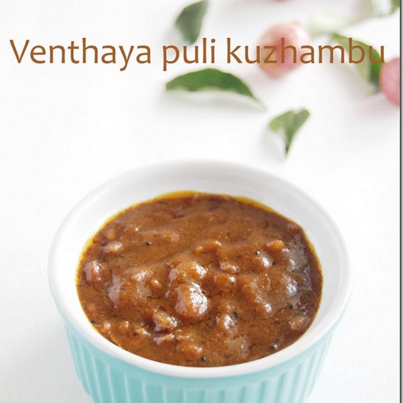 Venthaya puli kuzhambu