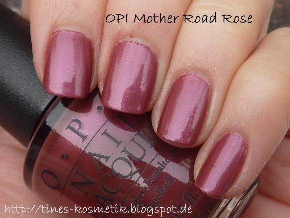 OPI Mother Road Rose 3