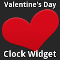 Valentine's Day Clock Widget icon