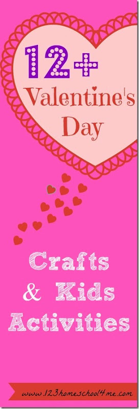 12 Valentines Day Crafts and Kids Activites