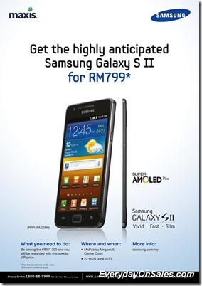 Maxis-Samsung-Galaxy-S-II-promotion-2011-EverydayOnSales-Warehouse-Sale-Promotion-Deal-Discount