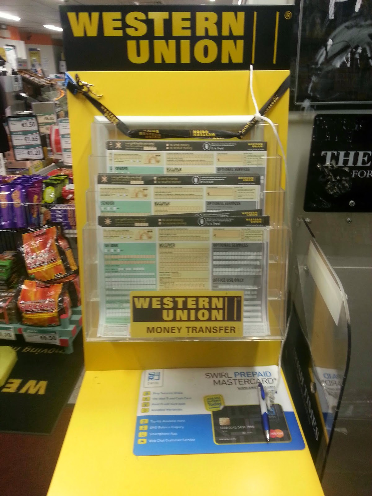 Western union quick collect form