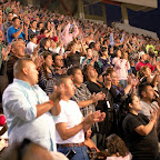 08 Crowd applauding Bakersfield Crusade.jpg