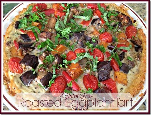 roasted eggplant tart