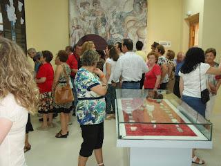 Inauguració de les Primeras Jornadas de la Villa Romana de Noheda (Foto: vocesdecuenca.es)