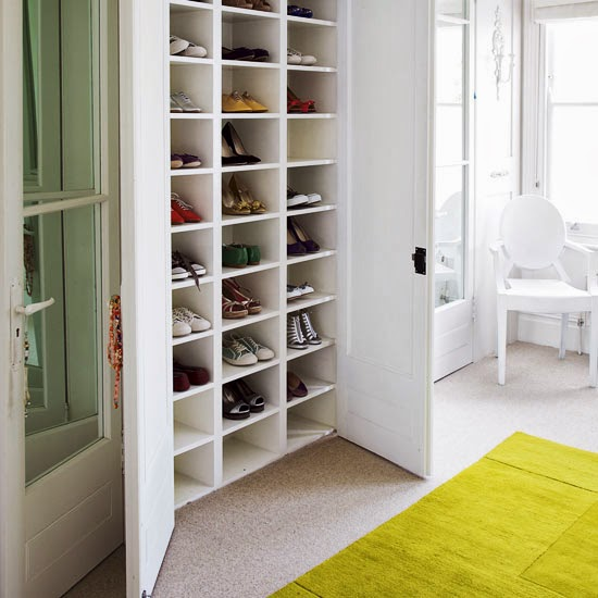 Closet Shoe Storage Solutions : Shoe storage solutions casual cottage