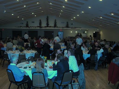 About one hundred people attended the Community Foundation Chef Cookoff in Richmond