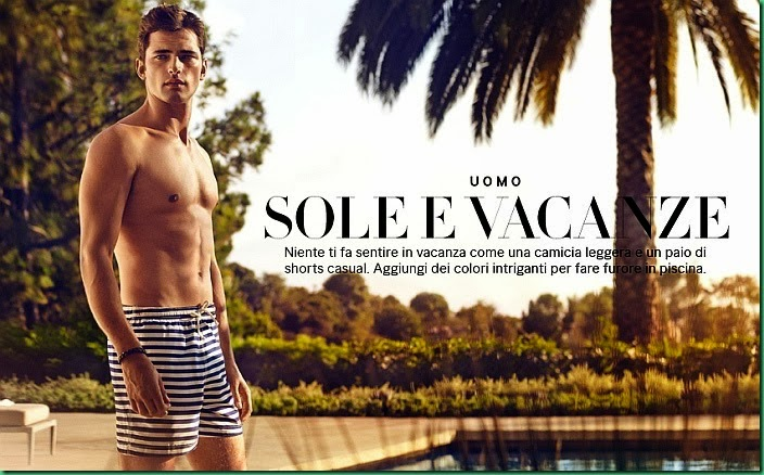 Sean O'Pry for H&M SS 2014 - Sun and Holidays