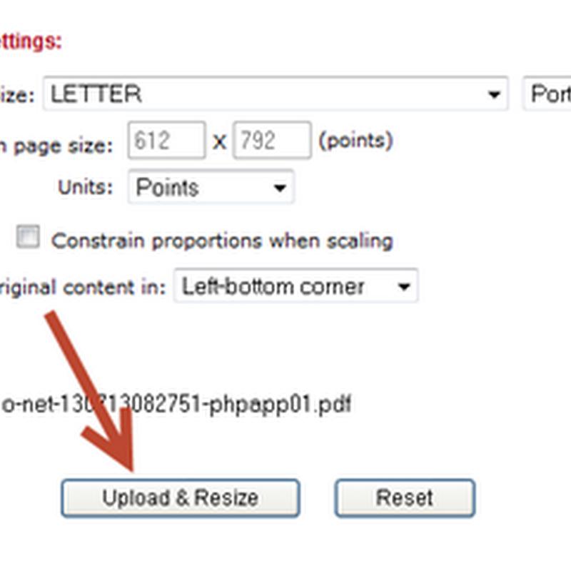 ลดขนาด (Resize) เอกสาร PDF แบบออนไลน์ง่ายและฟรี