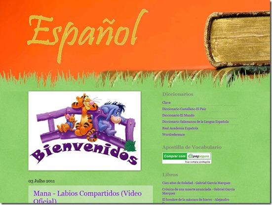 Espanhol blog