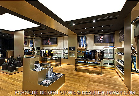 Porsche Design Store Singapore at The Shoppes at Marina Bay Sands