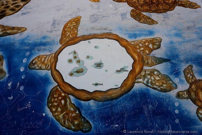 Galapagos-Karte