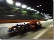 La Red Bull di Sebastian Vettel a Singapore