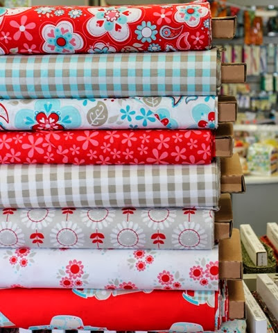 Twice as Nice fabrics via The Fabric Mill Blog