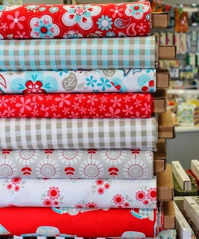 Twice as Nice fabrics via The Fabric Mill Blog