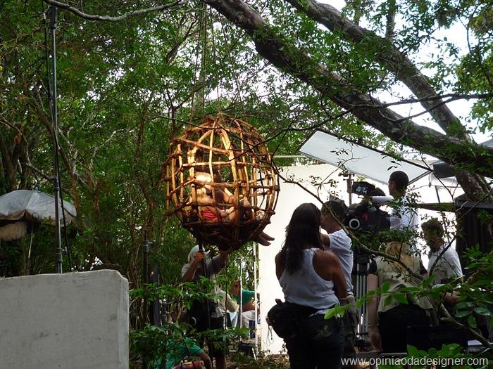 gravação de Tainá 3 na Amazônia