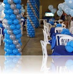 PILASTRAS  DE BALÕES CHCOMEL FESTAS