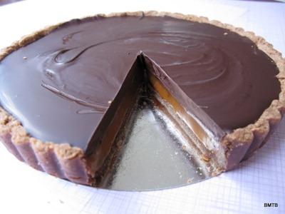 choc tart