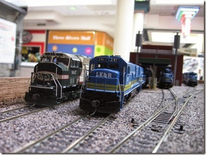 IMG_6070 LK&R Layout at the Three Rivers Mall in Kelso, Washington on April 14, 2007