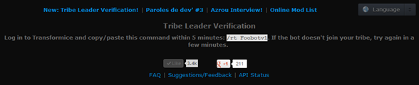 tribe leader verification2