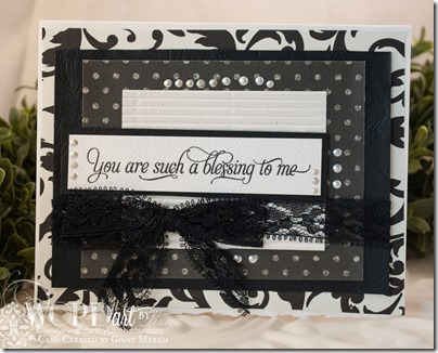 you are such a blessing card Friendship set www.papercraftmemories.com