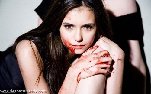 nina dobrev linda sensua sexy sedutora fotos Vampire Diaries desbaratinando (68)
