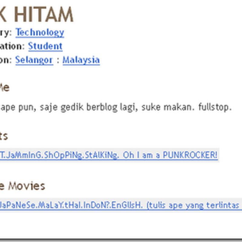 Blogger Pilihan #3:5