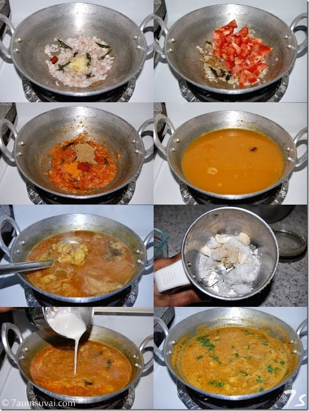 Vada curry process 2