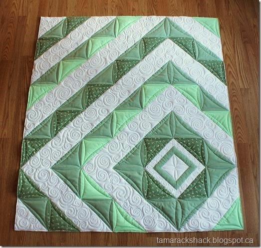 Tamarack Shack: HST Baby Quilt : hst quilt - Adamdwight.com