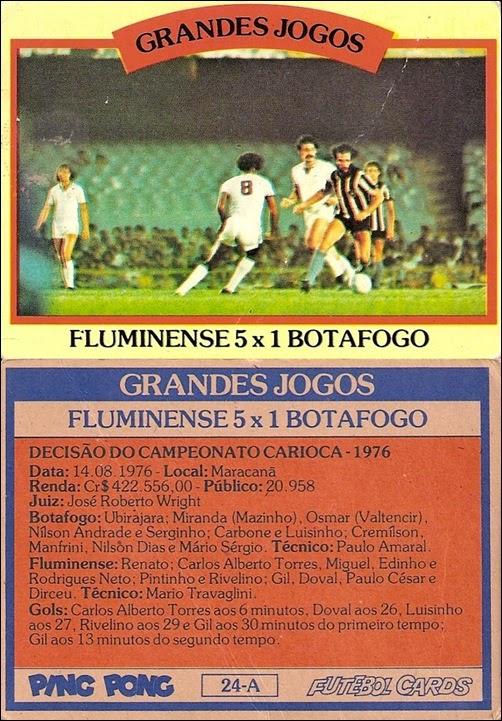 24-A - Fluminense 5x1 Botafogo