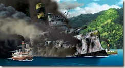 Howls Moving Castle Burning Battleship