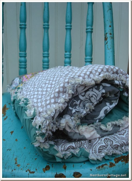 {Northern Cottage} pretty cottage quilt