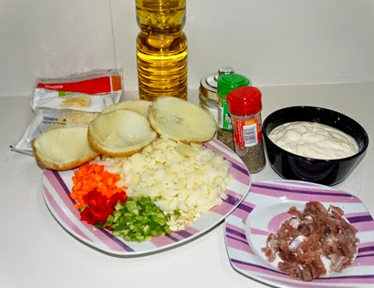 Ingredientes Papas asadas