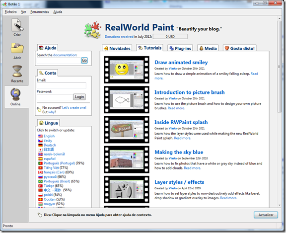 RealWorld Paint Interface