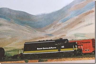 28 479653179 OCP BL2 #45 on my Dad's Layout in Fall 2007