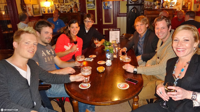 reunion with the CITY crew in IJmuiden, Noord Holland, Netherlands