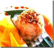 Sweet Sticky Rice with Mango